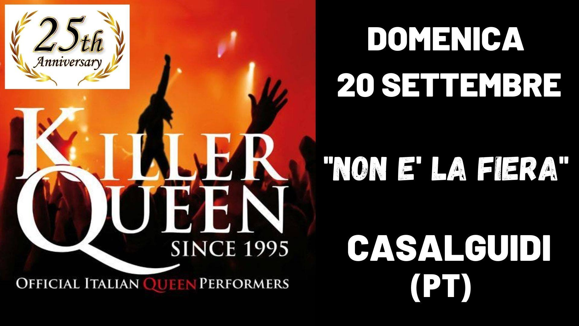 Killer Queen live – Non è la fiera