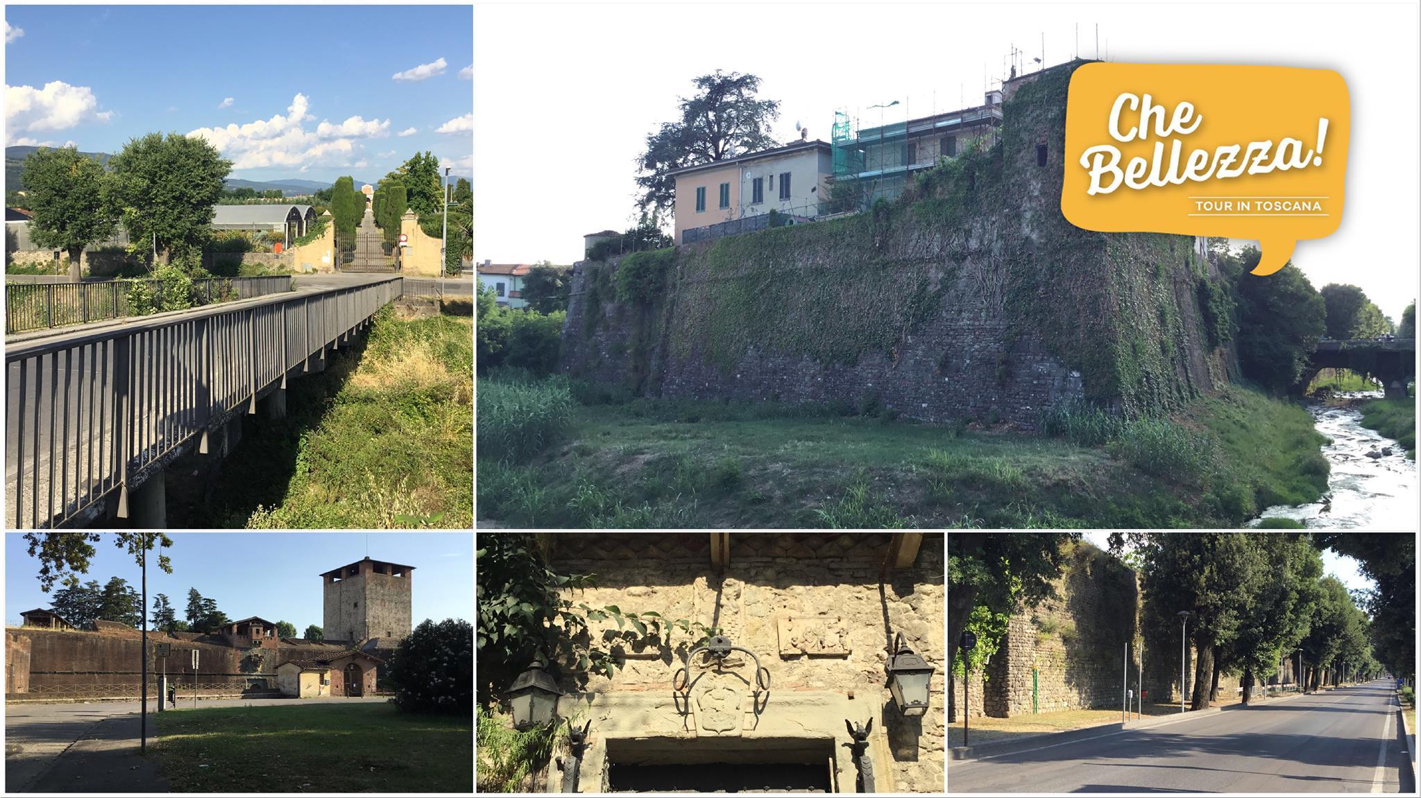 Pistoia: curiosità intorno alle mura del lato est
