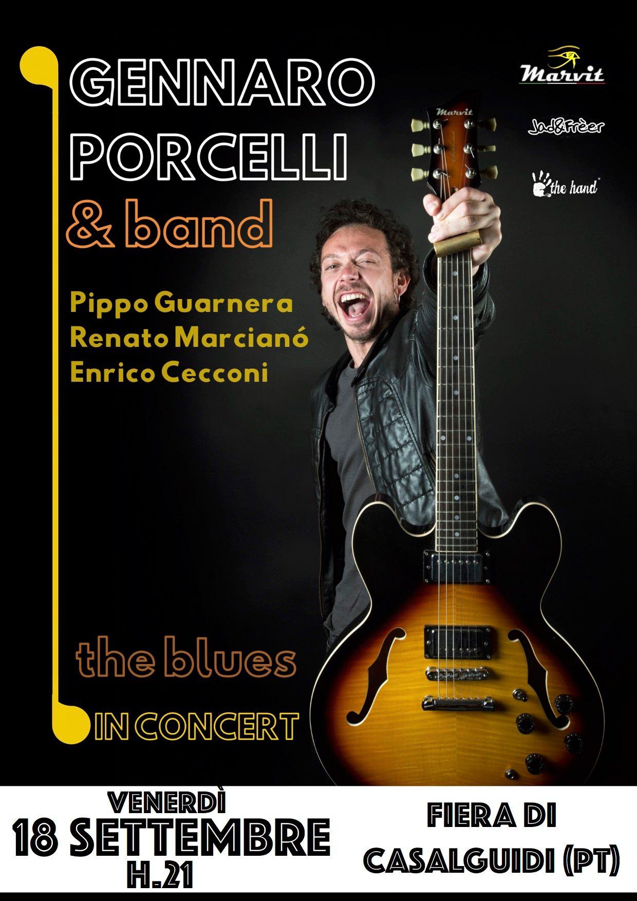 Gennaro Porcelli & RR Band Live in Concert – Non è la fiera