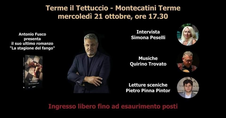 Antonio Fusco presenta 'La stagione del fango'