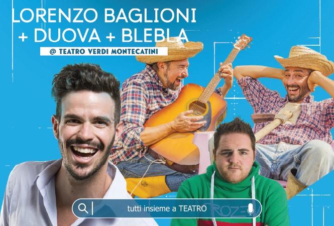 Lorenzo Baglioni, DuoVa e Blebla